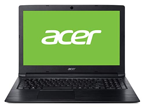 "Acer Aspire 3 | A315-53-30VC - Ordenador portátil de 15.6"" HD Acer ComfyView LCD (Intel Core i3-7020U, 8GB de RAM, 128GB SSD, Intel HD Graphics 620, Windows 10 Home) Negro - Teclado QWERY Español"