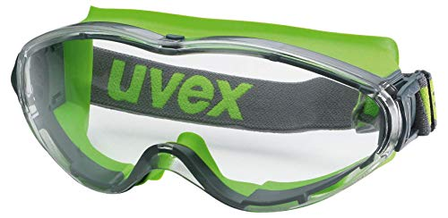 Uvex Ultrasonic Supravision Extreme Schutzbrille - Transparent/Anthrazit-Lime