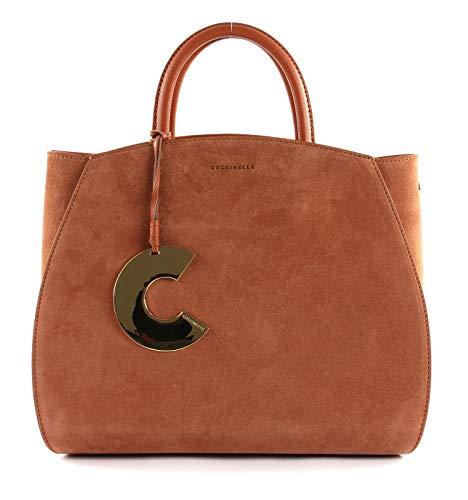 Coccinelle Concrete Suede Handtasche Leder 32 cm