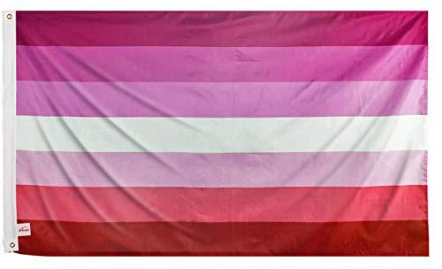 Ericraft Lesbianische Flagge, groß, 90 x 150 cm