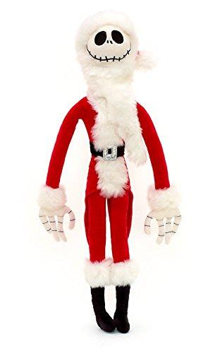 Disney Store peluche Jack Skeletron 55cm originale versione Babbo Natale