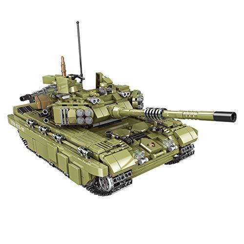 Bloque de construcción modelo de tanque, WW2 Scorpio Tigre, juego de construcción de tanques militares, 1386 bloques de sujeción compatibles con tecnología Lego (06015)