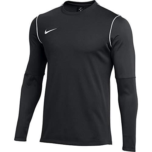 Nike Herren Langarm Shirt Dry Park 20 Crew, Black/White/White, XL, BV6875-010