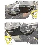 Skinz Protective Gear SDBP450-BK Bash Plates for Ski-Doo