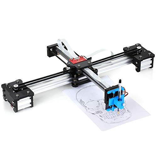 Desktop DIY Assembled XY Plotter Disegno con penna Robot Drawing Machine Painting Scrittura a mano Robot Kit 100-240V