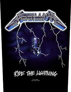 Metallica Backpatch Rückenaufnäher # 10 Ride The Lightning