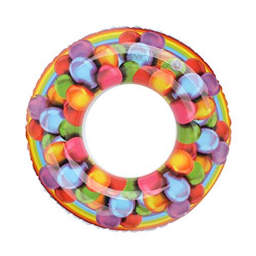 Ballon Opblaasbare Cirkel Volwassen Kinderen Zwemmen Ring Zwembad Opblaasbare Float Volwassen Kinderen Zwembadfeest 100cm