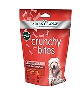 Arden Grange Crunchy Bites Dry Dog Treats Chicken, 225 g