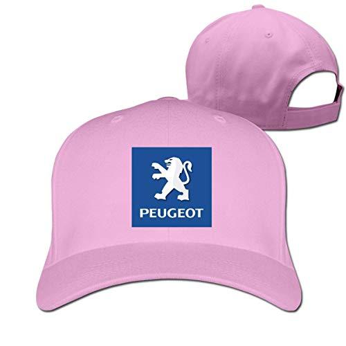 New Customized General Motors Peugeot Logo Funny 100% Cotton Cricket Cap for Mens Casquette Black,Sombreros y Gorras