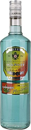 Iganoff Cannabis Wodka (1 x 1 l)