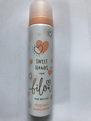 Bilou Sweet Hands, pflegender Handschaum, 75 ml