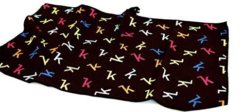 Keel Schlägertuch Funky K– Golfhandtuch Microfaser für Männer und Frauen