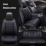 JYPZSH Funda De Asiento De Coche Universal para BMW X1 E84 F48 X2 F39 X3 E83 F25 X3 G01 F97 X4 F26 G02 X5 X6 X7 Accesorios De Coche-Negro