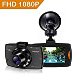 Upgraded Dash Cam 1080P Full HD Dashboard Camera Recorder with High Sensitive G-sensor
