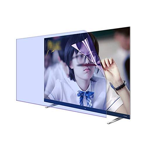 GFSD Amplia Personalización Protector de Pantalla Pet Luz Anti-Azul, Radiación Anti-UV Aliviar La Fatiga Ocular para TV LED De 32'~ 75' (Color : Matte Version, Size : 40 Inch 875 * 483mm)