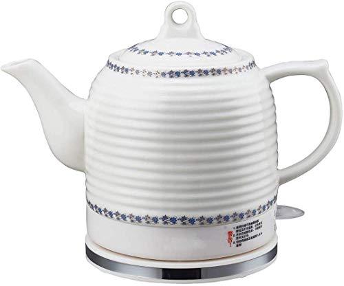 Bouilloires en céramique bouilloire électrique sans fil eau Teapot, Teapot-Retro 1.3L Jug, 1000W rapide 8bayfa