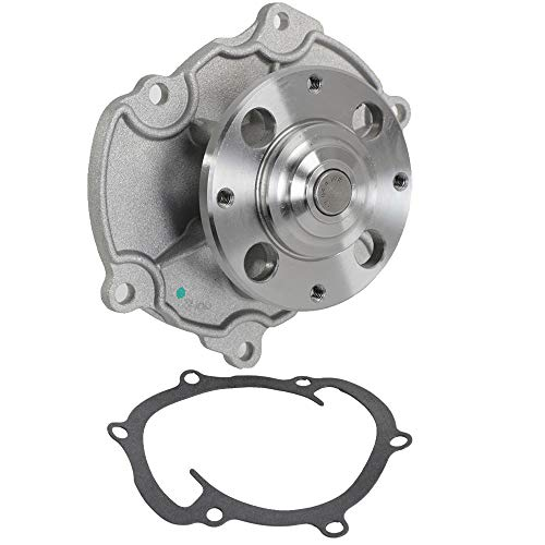 AutoForever Water Pump with Gasket AW5103 Comptible with 12-13 Chevy Impala 2005-2013 LaCrosse, GMC Saab Cadillac CTS and more, 2.8L 3.0L 3.6L V6 Engine, OE Replacement