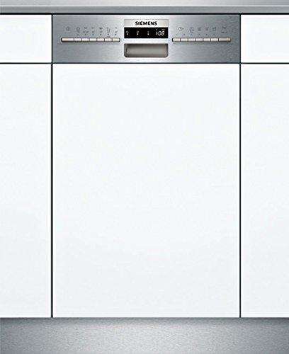 Siemens SR536S07IE Geschirrspüler Teilintegriert / A++ / 197 kWh/Jahr / MGD / 2380 l/Jahr / Edelstahl / DuoPower-Doppelsprüharm / DosierAssisten