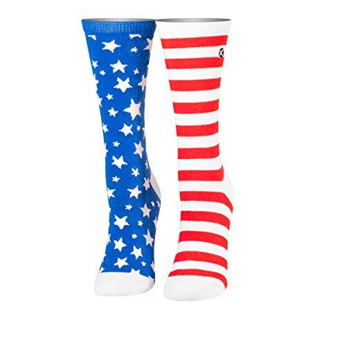 ODD SOX Damen Socken Stars und Stripes