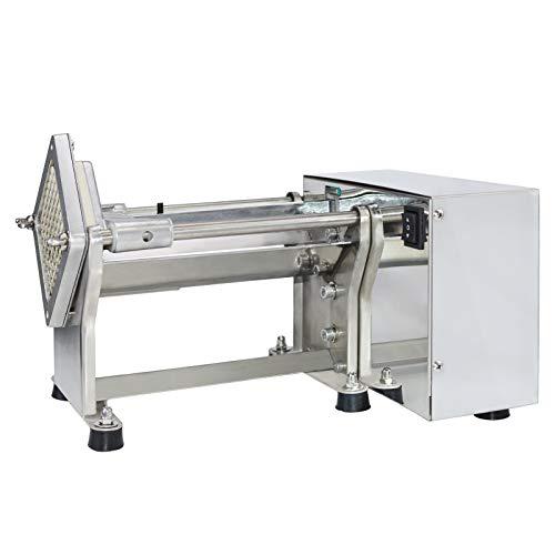 NJTFHU French Fry Potato Cutter Machine Electric Cutting Slicer...