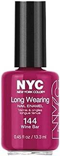 NYC Long Wearing Nail Enamel - Wine Bar