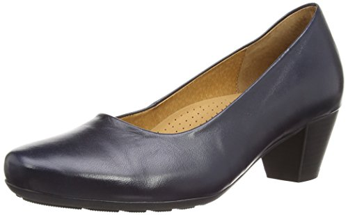 Gabor Gabor Brambling, Damen Pumps , Blau - Blue Leather - Größe : 36 EU (3.5 UK)