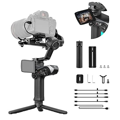 Zhiyun WEEBILL 2 Gimbal Stabilizzatore Video Professionale per Mirrorless & DSLR Macchine Fotografiche Sony A7R3 A7M3 Canon 5D4 EOS R Nikon Z6 Z7 D850 Panasonic GH5 BMPCC 8,8 libbre di carico utilel