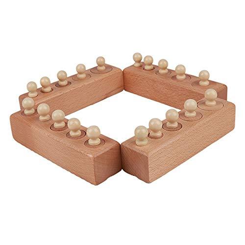 Dunflop Kinderspielzeug, Kreativität Zylindrische Buchse Familie Educational Sinnestraining Spielzeug for Kinder