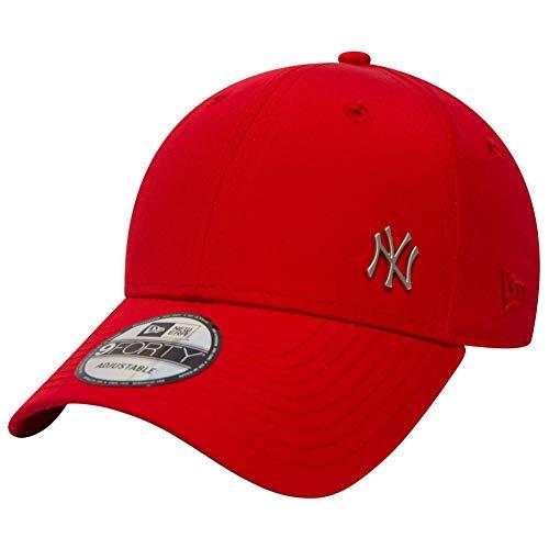 New Era MLB Flawless Logo 9Forty Adjustable Cap NY Yankees Rot, Size:ONE Size