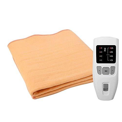 Cobija eléctrica de Doble Seguridad para radiación del hogar, termostato de Doble...