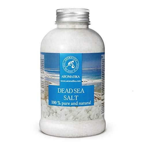 Sal del Mar Muerto 500g - 100% Puro y Natural - Sales del Mar Muerto - Mejor para un Buen Sueño - Alivio para el Estrés - Baño - Belleza - Relajante - Sales de Baño