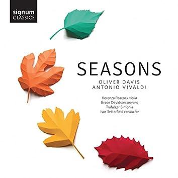 Oliver Davis & Antonio Vivaldi: Seasons