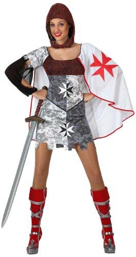 Atosa - 16445 - Costume - Déguisement Guerrière Médiévale Adulte - Taille 3