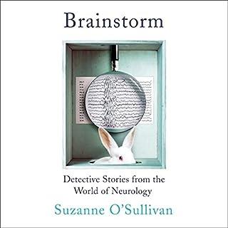 Brainstorm audiobook cover art