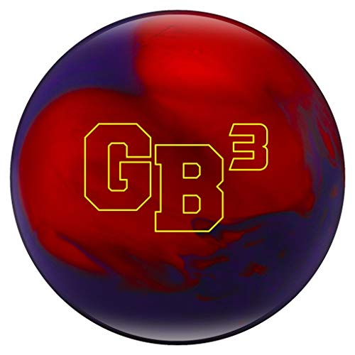 Ebonite Game Breaker 3 Pearl Bowling Ball, Size 16.0, Purple/Red