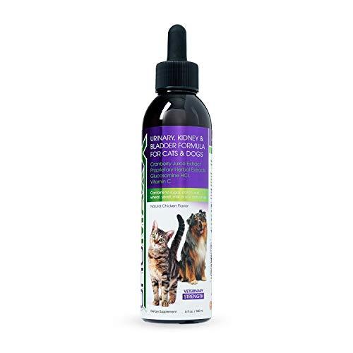 UroMAXX Formule pour les voies urinaires, les reins et la vessie pour chats et chiens, flacon de 177 ml.