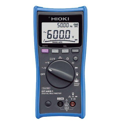 HIOKI(日置電機) DT4251 デジタルマルチメータ (ACクランプ測定対応)