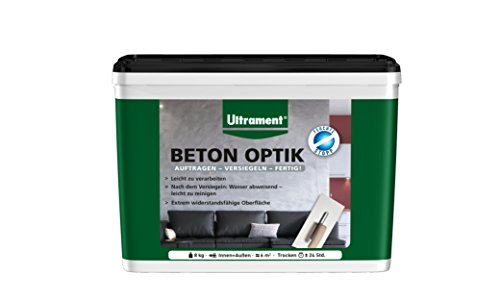 Ultrament Beton Optik, mittelgrau, 8kg