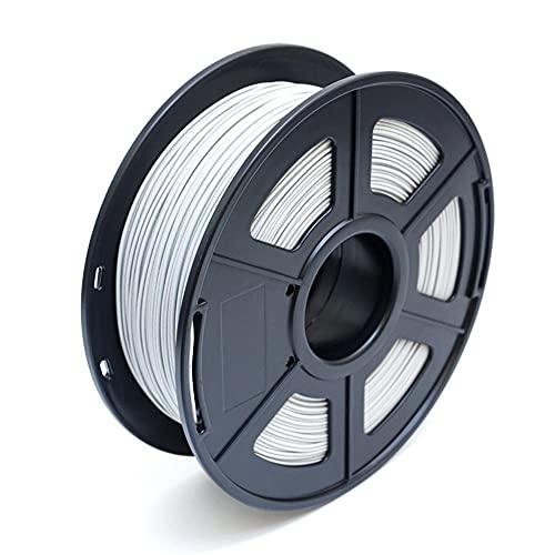 PLA-M filament 1.75mm frosted polylactic acid material 3D printer filament 1kg2.2lb spool Dimensional Accuracy +/- 0.03mm-gray_1.75mm
