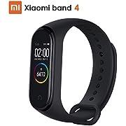 Xiaomi Mi Band 4 Pulsera de Actividad, Reloj Xiaomi, Fitness Tracker, Monitores de Actividad, Pantalla Pulsómetro, BT 5.0, 50M Impermeable, 135 mAh, Negro