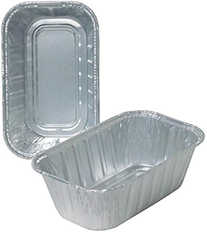 Durable Packaging Disposable Aluminum Loaf Pan 1 Lb Pack Of 500