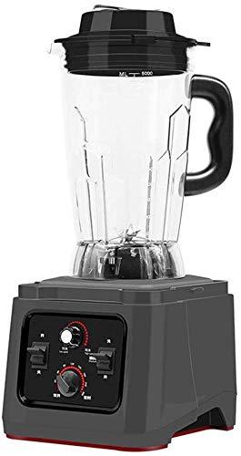Moulin à café multi-fonctions - High Power Appliance professionnelle for smoothies, soupes, boissons glacées, Recettes - Capacité 5L, Pièces amovibles Nettoyage facile 8bayfa