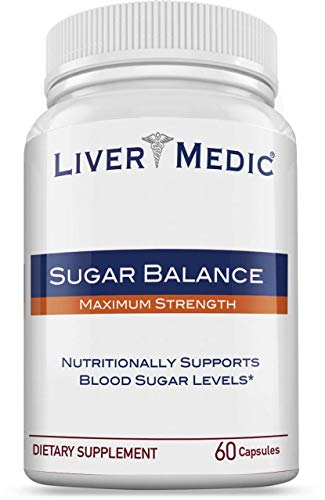 Blood Sugar Support Supplement - Helps to Control & Normalize Blood Sugar Balance | Made from All-Natural Ingredients (60 Bovine Capsules for Men & Women)