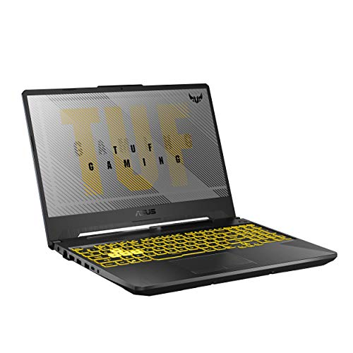CUK ASUS TUF506IU Gaming Laptop PC (AMD Ryzen 7 4800H CPU, 16GB RAM, 512GB NVMe SSD, NVIDIA GeForce GTX 1660 Ti 6GB GPU, 15.6' Full HD 144Hz, Windows 10 Home) Gamer Notebook Computer