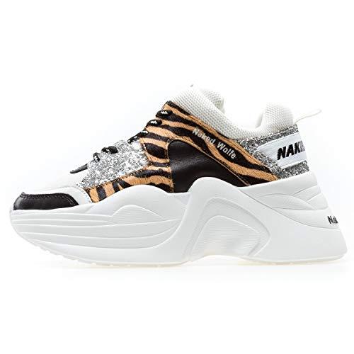 NAKED WOLFE NWSTRACK Sneakers Damen weiß 36