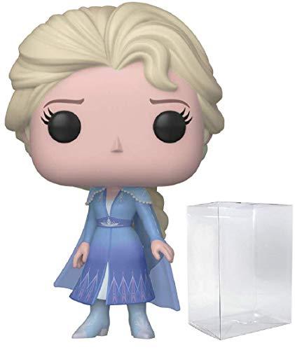 Funko Pop Disney: Frozen 2 - Elsa Pop! Vinyl Figure (Includes Compatible Pop Box Protector Case)