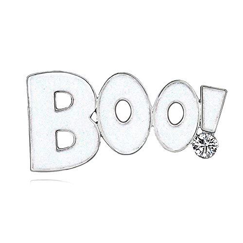 iTemer Tema de Halloween Creativo Boo! Aleación patrón Broche Ropa Bolsas Accesorios...