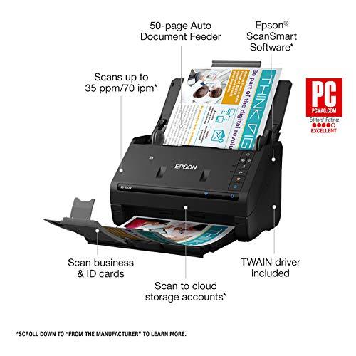 Key Features Of Epson ES-500W Wireless Scanner