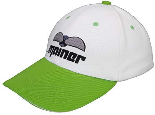 Emainer - Golf-Kappen für Herren in Grün Weiß, Größe Einheitsgröße