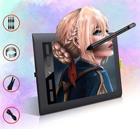 Digital Drawing Tablet for PC, Acepen Computer Graphics Tablets with Tilt Function for Beginners Artist Teacher,Support Online Learning and Working,Digital Art Tablet for Android Laptop Mac (106.5)